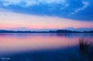 Tramonto sul lago 3