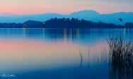 Tramonto sul lago 4