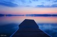 Tramonto sul lago 5