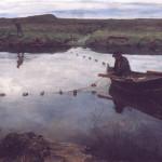 Eilif Peterssen Laksefiskeren (1889)