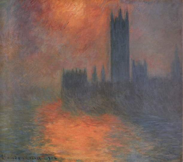 Paintings of Sunsets by Claude Monet | Teresa Bernard Oil Paintings