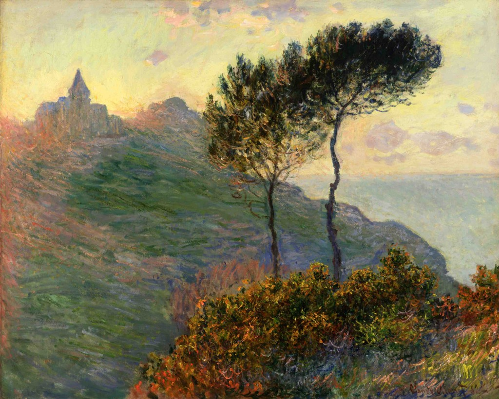Paintings of sunsets by claude monet teresa bernard oil for Monet paintings images