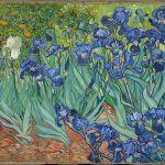 irises van gogh painting