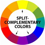 split-complementary color scheme
