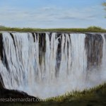 Victoria Falls, Zambia Africa painting