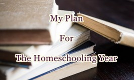 My Plan For The Homeschooling Year