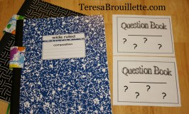 Creating a Question Book