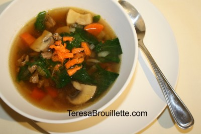 Vegetable Beef Soup. Enjoy comforting cold weather soup without skimping on the veggies!
