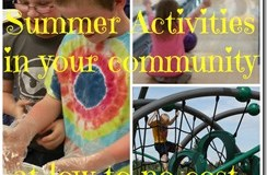 Summer Activities To Find In Your Community