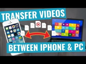 Image: transfer photos and videos between smartphone and computer/laptop