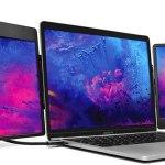 SideTrak Swivel Triple portable monitor for laptops