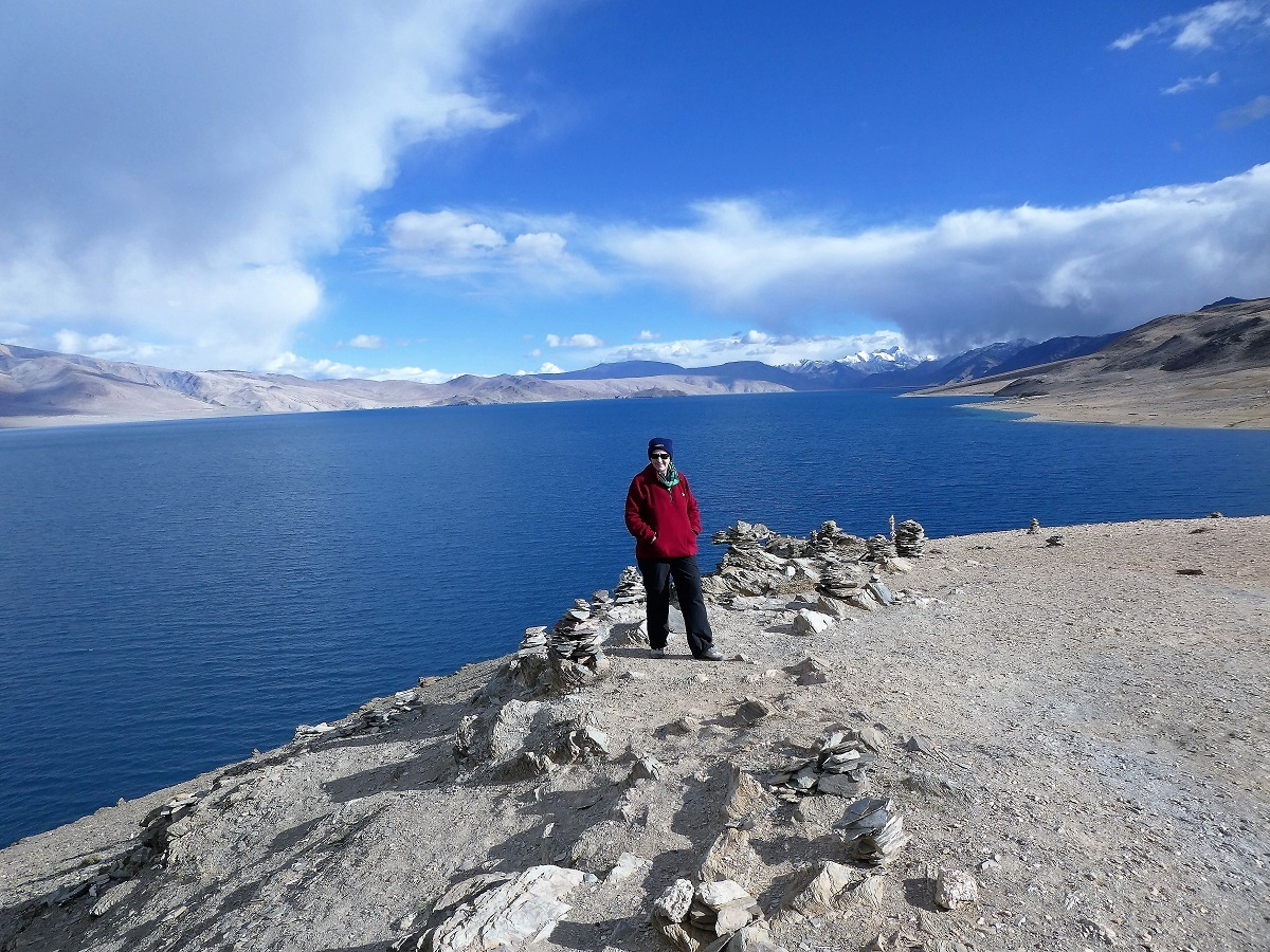 Tsomorori Lake, Ladakh, India