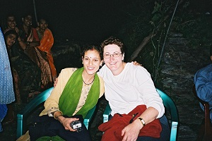 My first meeting with Seema at Balori when we first met 2003