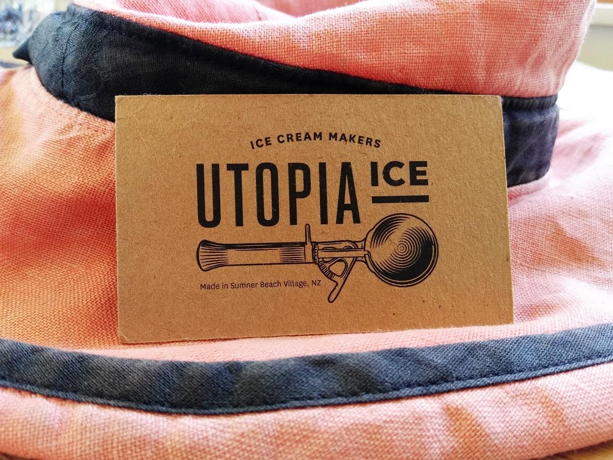 Gelato, Utopia Ice and summer, Christchurch NZ