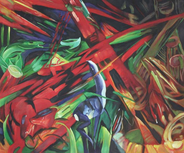 Animals by Franz Marc Fate of The