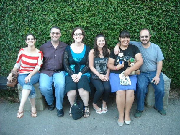 Judi, Matt, Robin, Marissa, Me, and The Boy at Casa Vega during Robin's visit. If you look closely, you'll see that Robin features a coming attraction for 2014 in her belly. :)