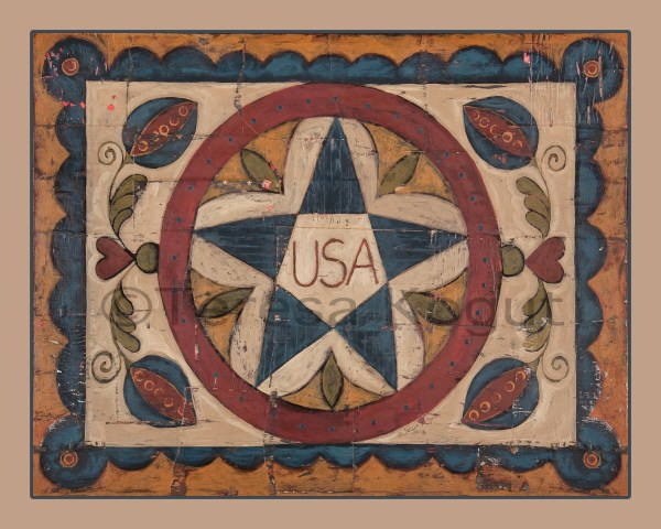 Early American Folk Art Prints