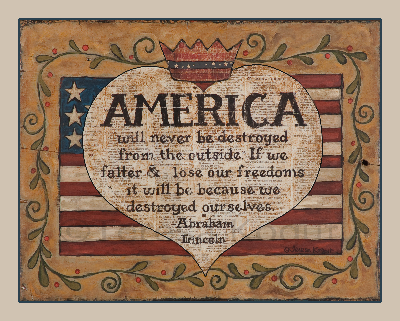 Early American Folk Art Prints
