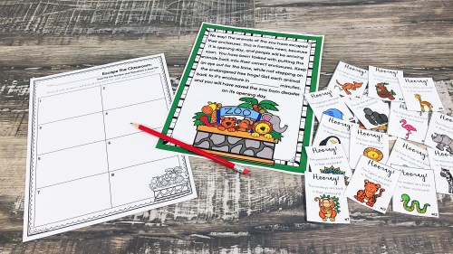 small resolution of Cracking the Classroom Code™ 5th Grade Operations in Base Ten Escape Room -  Teresa Kwant