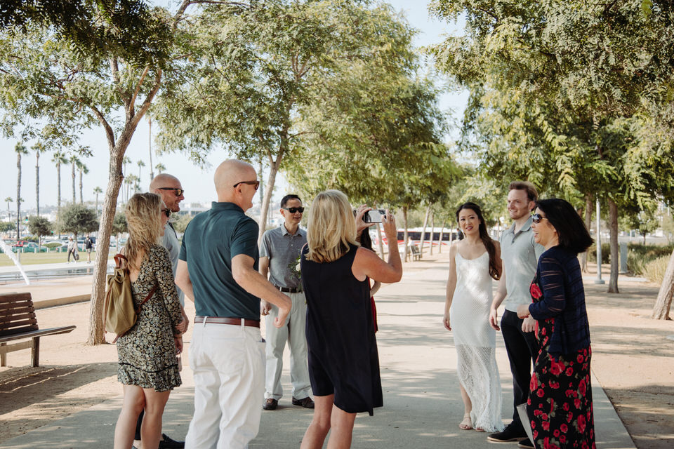 Civil Ceremony at San Diegos Marriage Hut - Teresa ...
