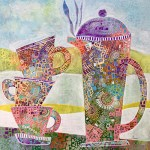 Coffee Time by Teresa Rogers - artist in Hampshire