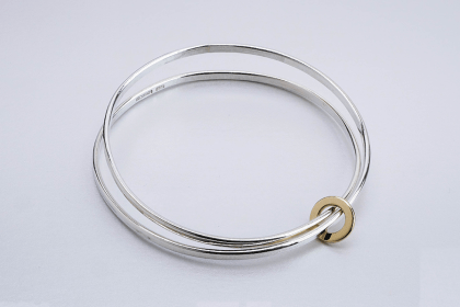 Busy link bangle