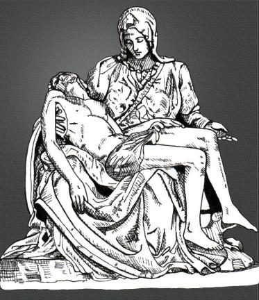 """Michelangelo""""s Pietá"""