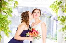 Bridesmaid Bouquet by Teresa Soleau - photo by Lisa Marie photography