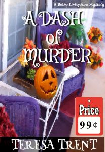 Book Cover: A Dash of Murder