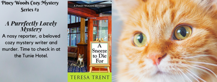 A Sneeze to Die For: A Purrfectly Lovely Mystery