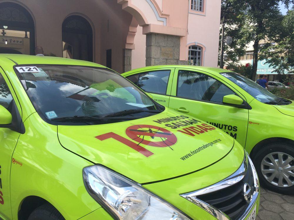 Teresópolis contra a Dengue: Governo destina carros para combate ao Aedes Aegypti