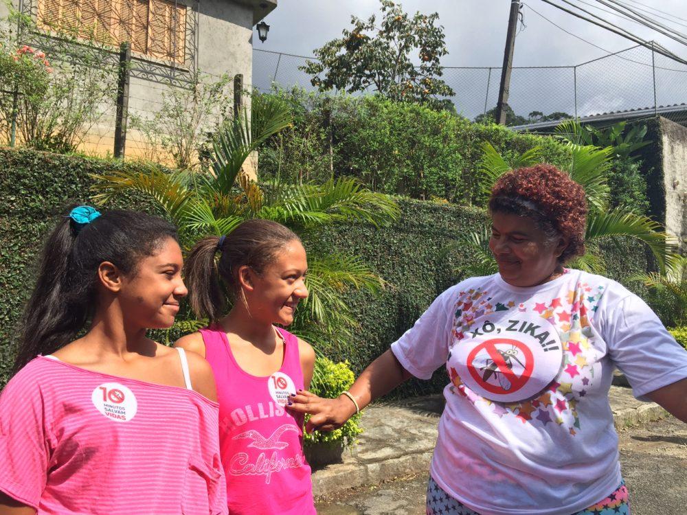 Moradores da Granja Guarani agradecem as ações de prevenção do Governo Municipal