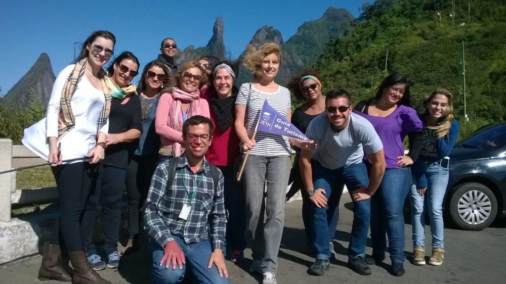Alunos de escola técnica de Turismo fazem famtour em Teresópolis