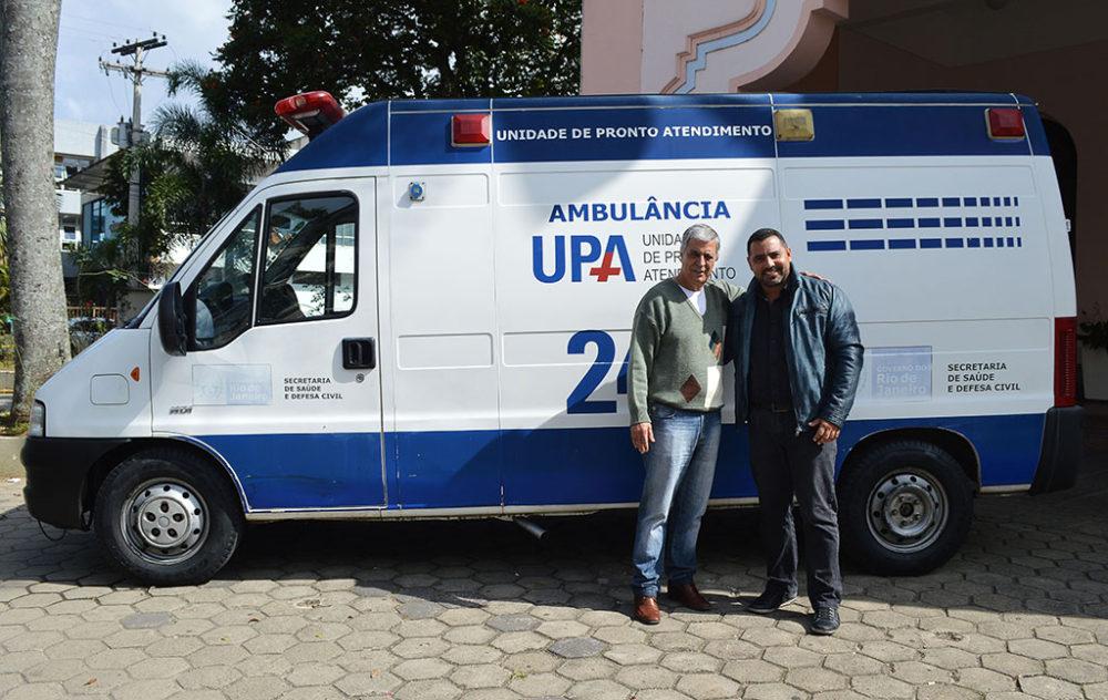 Saúde de Teresópolis conta com mais uma ambulância recuperada