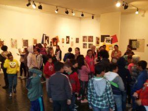 Palestra, visita guiada e encontro com a artista visual Titina Corso na Casa de Cultura Adolpho Bloch