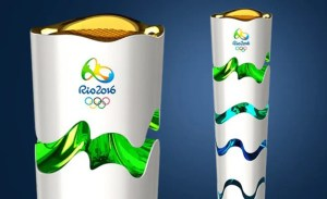 Contagem regressiva para passagem da Tocha Olímpica