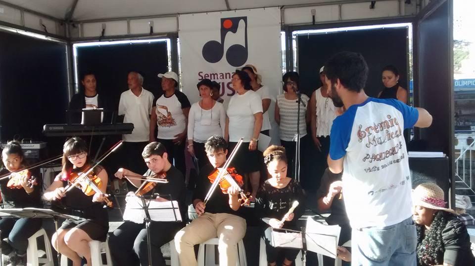 Grêmio Musical Paquequer na Semana da Música