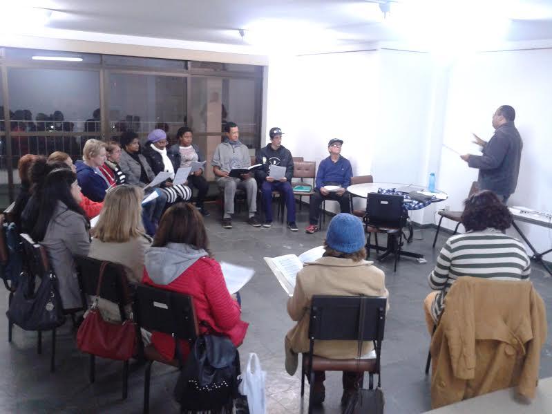 Coral Municipal volta a ensaiar no Centro Cultural Bernardo Monteverde