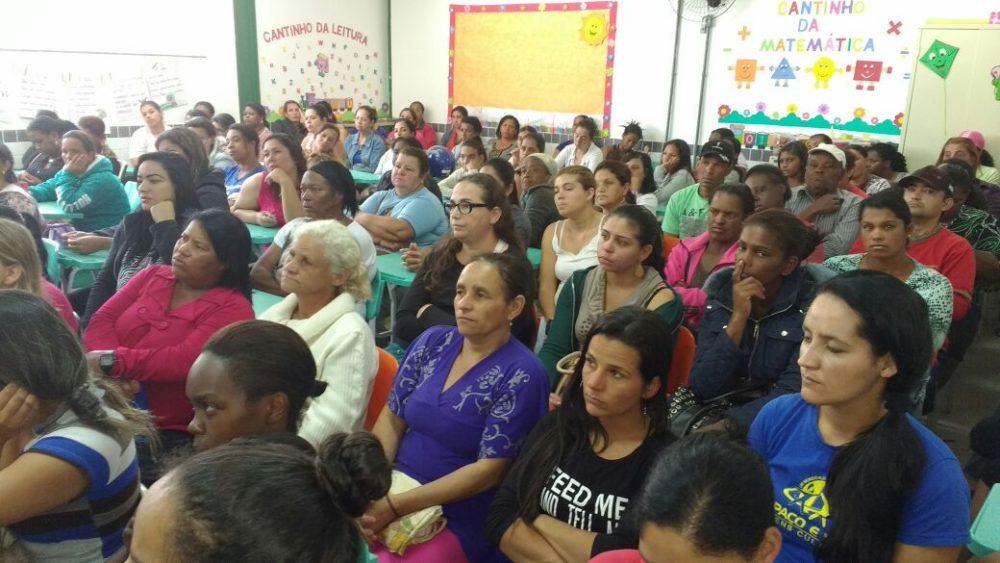 Palestra sobre Bolsa Família e BPC em Bonsucesso