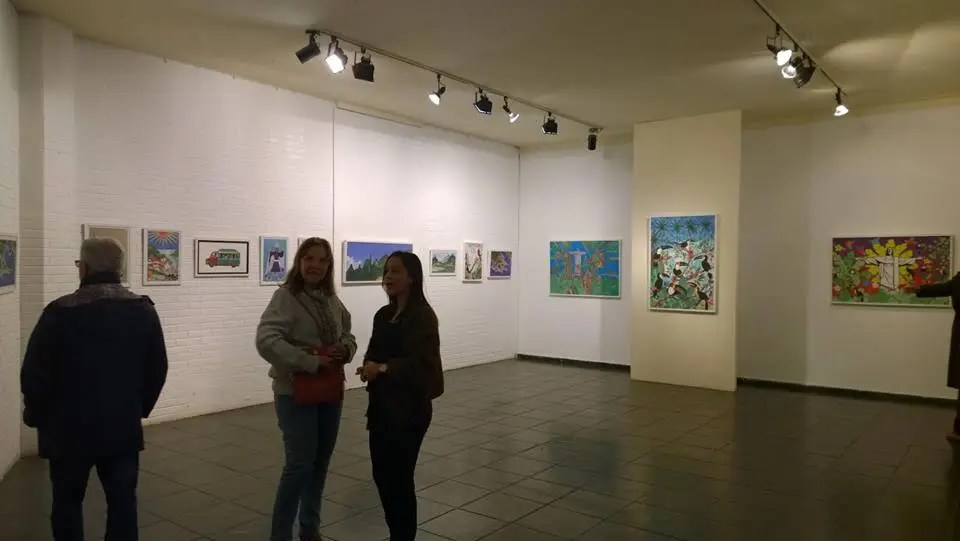 """Exposição """"naïf"""" de J. Araujo na Casa de Cultura até setembro"""