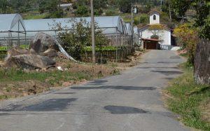 Estradas são recuperadas para manter a regularidade do escoamento da produção agrícola