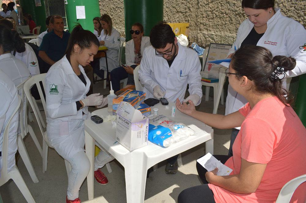 Ação itinerante de saúde chega a Beira Linha