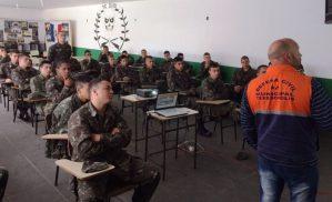 Curso de Defesa Civil a atiradores do Tiro de Guerra