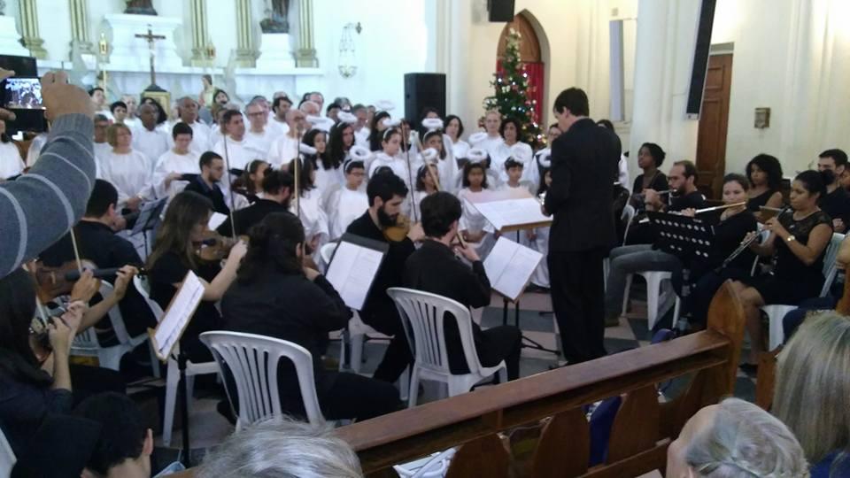 Coral da Primeira Igreja Batista se apresenta no 'Natal Encantado' de Teresópolis