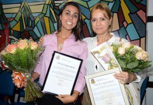 Primeira-dama é homenageada na Câmara pelo Dia Internacional da Mulher