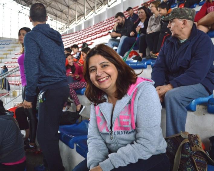 Andreia Coutinho, mãe do atleta Ryan, do Teresópolis/PMT: incentivo