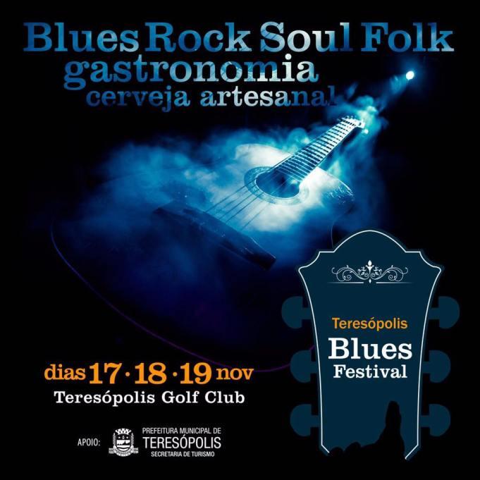 Secretário de Turismo Elias Martins e o organizador do evento, Fernando Fernandes: expectativa de 20 mil pessoas durante os três dias do Teresópolis Blues Festival