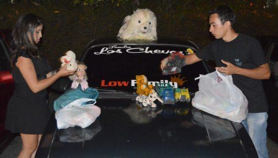 Encontro de Carros Rebaixados movimenta o Pedrão pelo Dia das Crianças