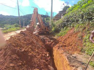 Secretaria de Agricultura faz intervenções de drenagem no interior
