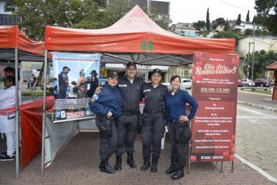 Equipe do Projeto Guardiões da Vida, da Polícia Militar